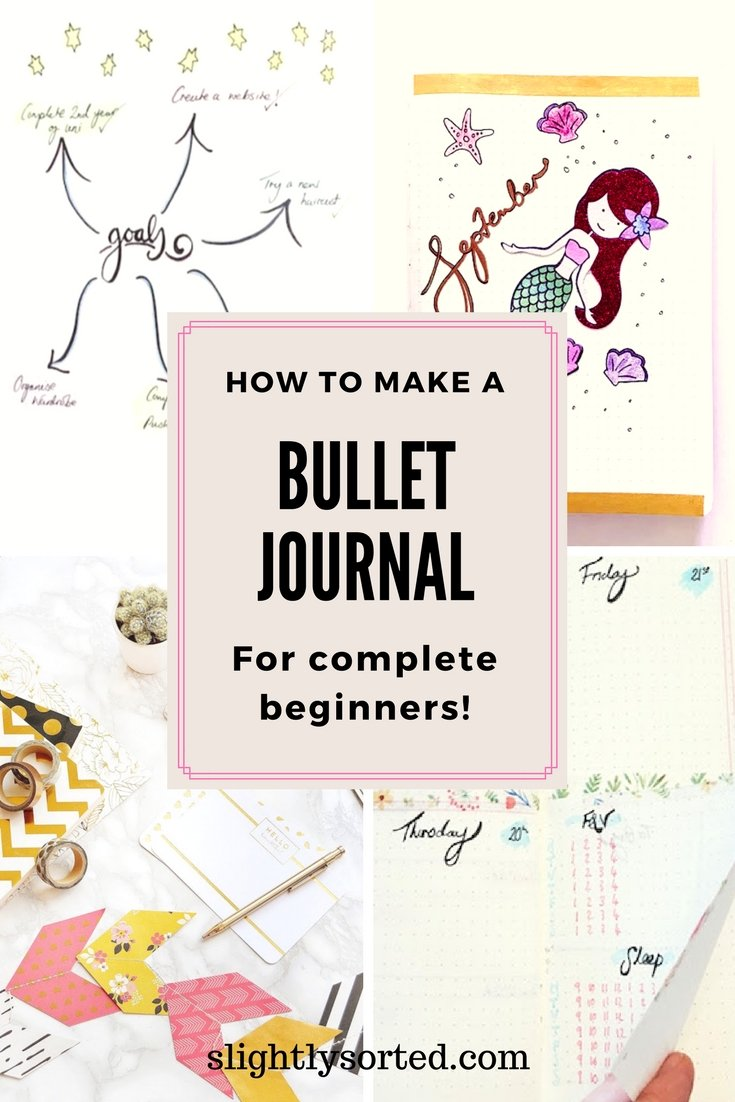 how to make bullet journal