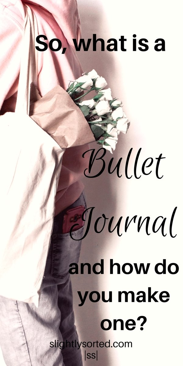 What is a bullet journal anyway