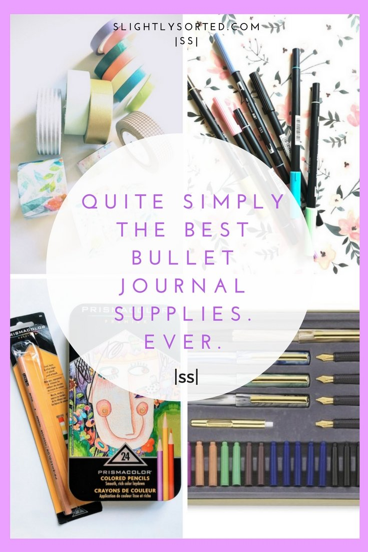 The best bullet journal supplies ever