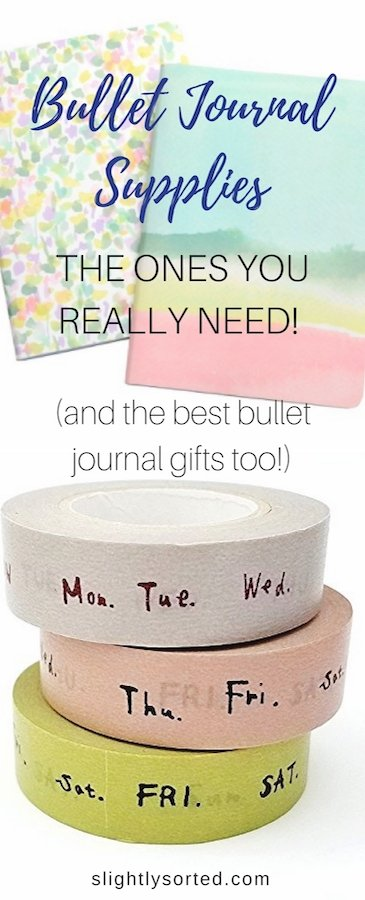 Bullet Journal Supplies and Gifts Pinterest
