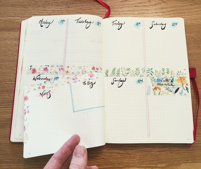 Bullet Journal Hacks Dutch Door 2