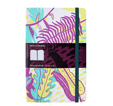 Bullet Journal Supplies Tropical Moleskin Notebook