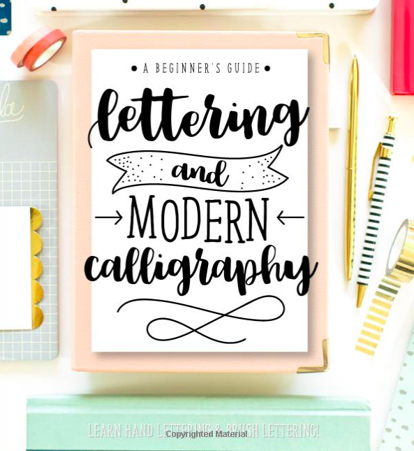 Bullet Journal Supplies Calligraphy Book