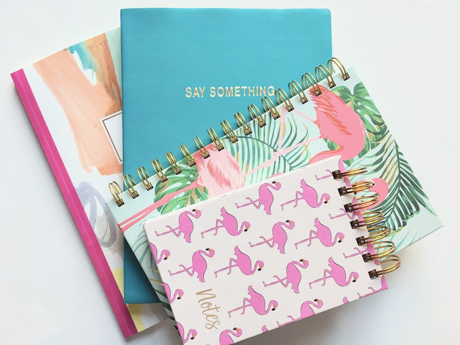 Bullet Journaling Supplies Selection of Notebooks