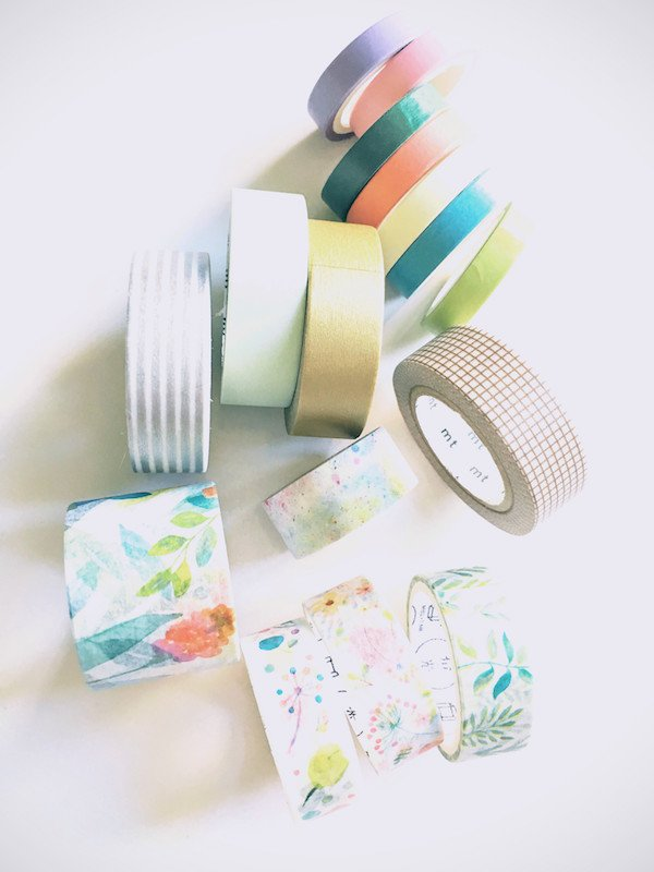 Bullet Journal Supplies Washi Tape