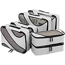 Grey Hardwearing Packing Cubes
