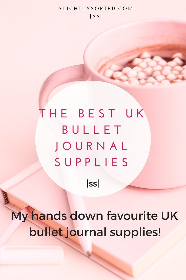 The best UK bullet journal supplies and gifts