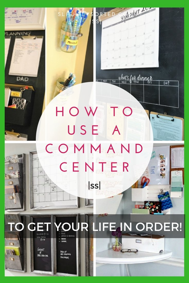 How to use a command center