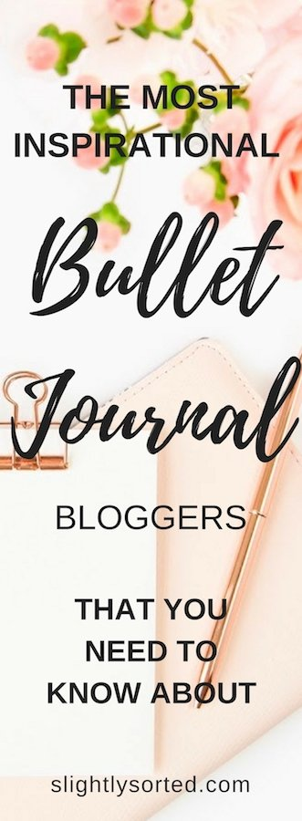 Bullet Journal Bloggers Pin