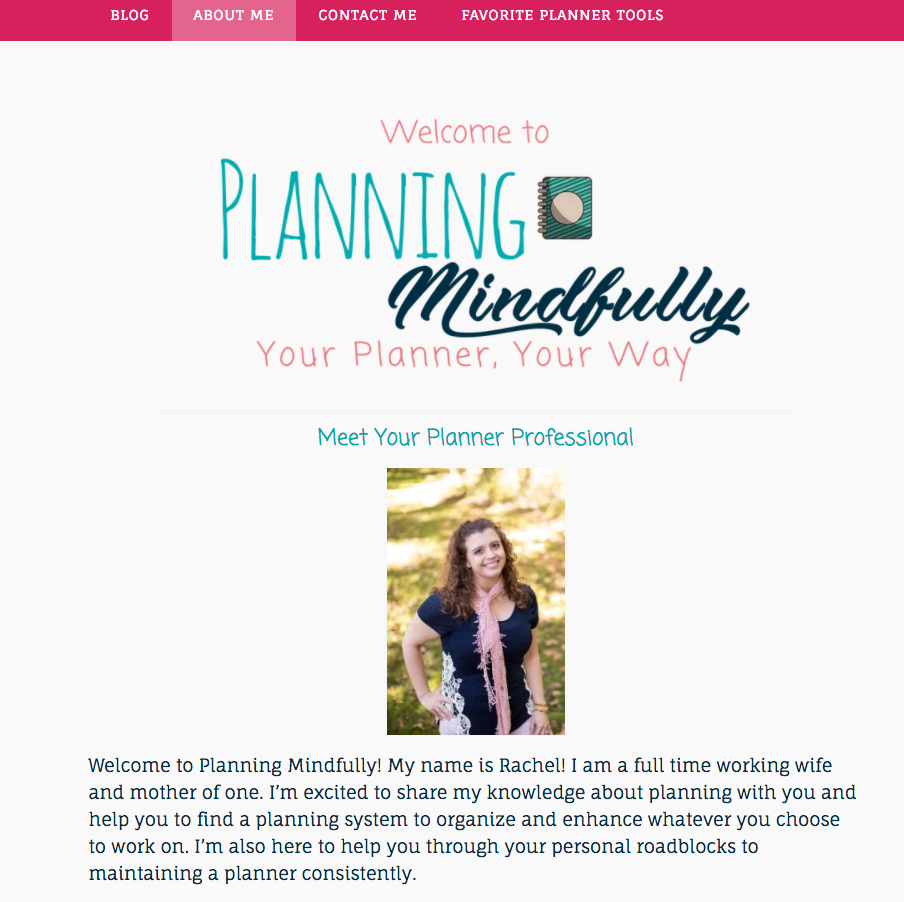 Bullet Journal Bloggers Planning Mindfully