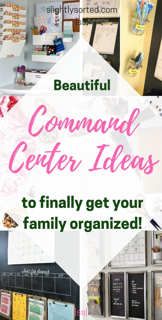 Beautiful Command Center Ideas