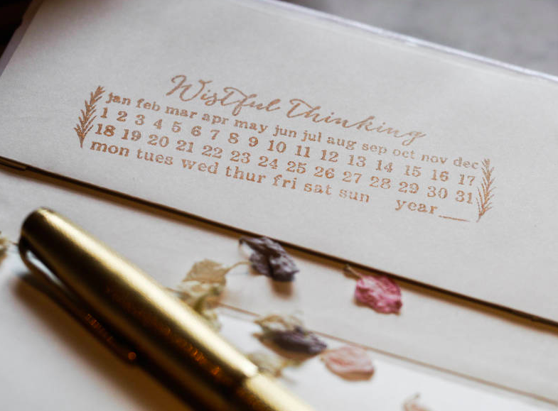 Personalised UK Bullet Journal Stamp