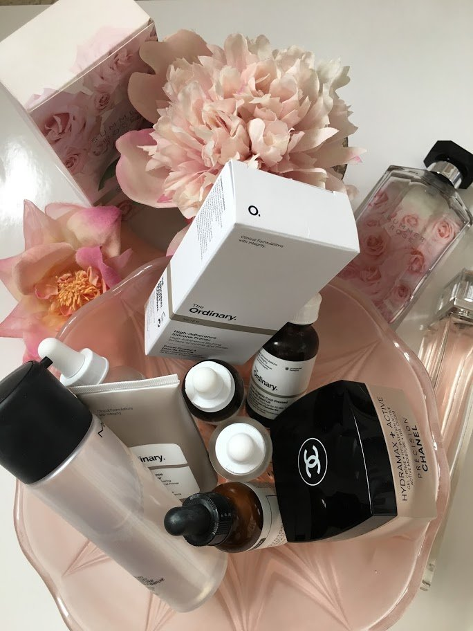 Selection of The Ordinary Skincare products