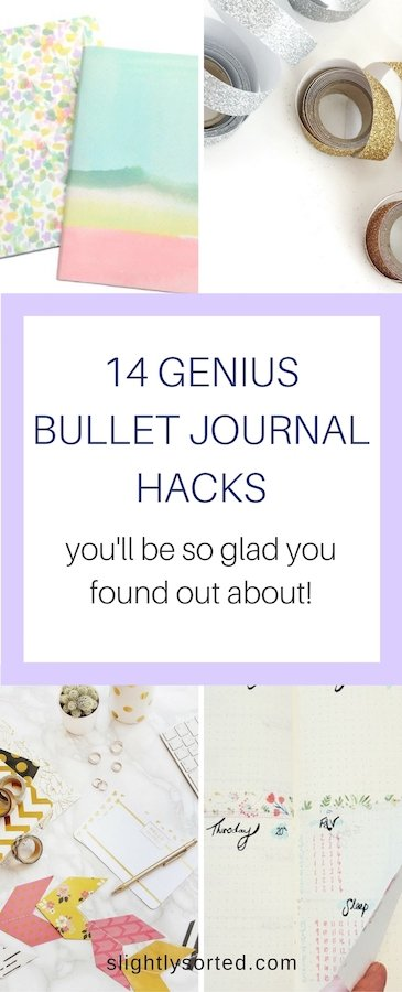 14 Genius Bullet Journal Hacks