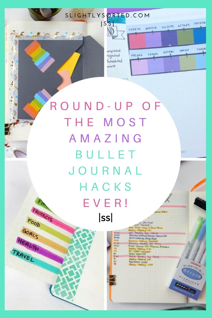The Most Amazing Bullet Journal Hacks