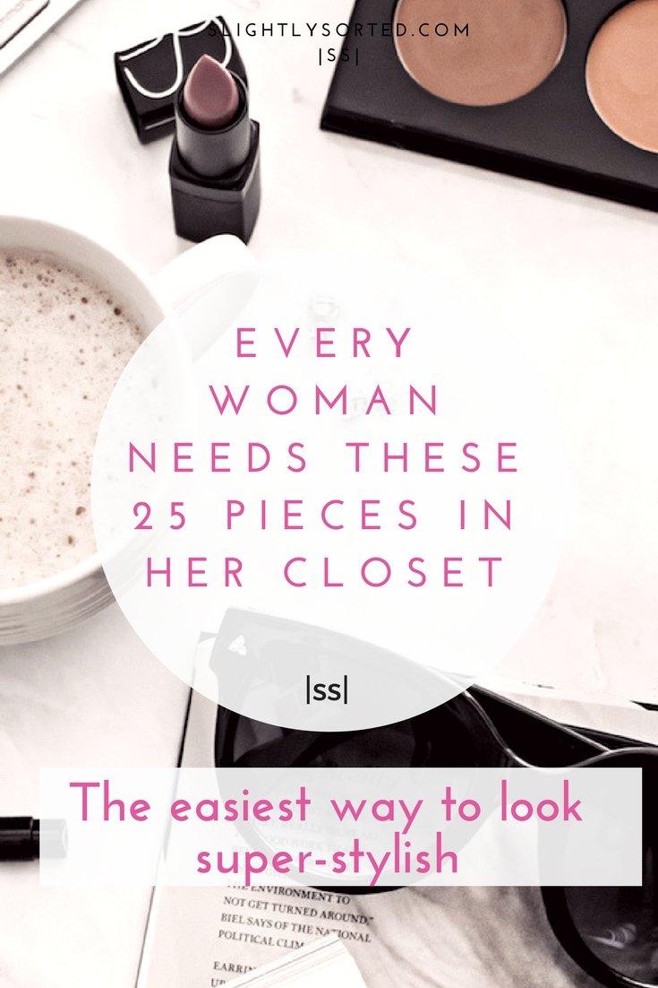 Wardrobe basics every stylish woman needs