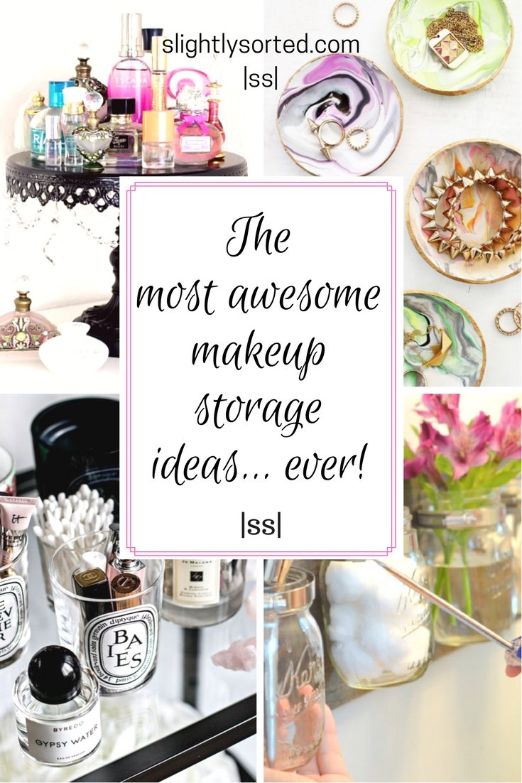 The most awesome makeup storage ideas ever