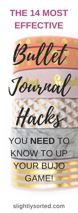 Bullet Journal Hacks Pinterest