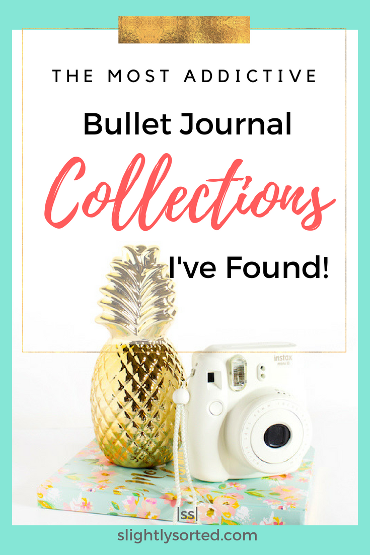 Addictive bullet journal collections!