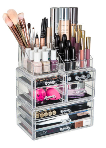 Makeup storage ideas acrylic makeup storage unit