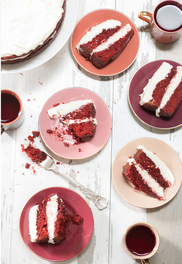 DIY Valentines Day Gifts Red Velvet Cake