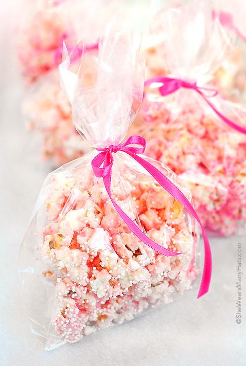 DIY Valentines Day Gifts Pink Popcorn