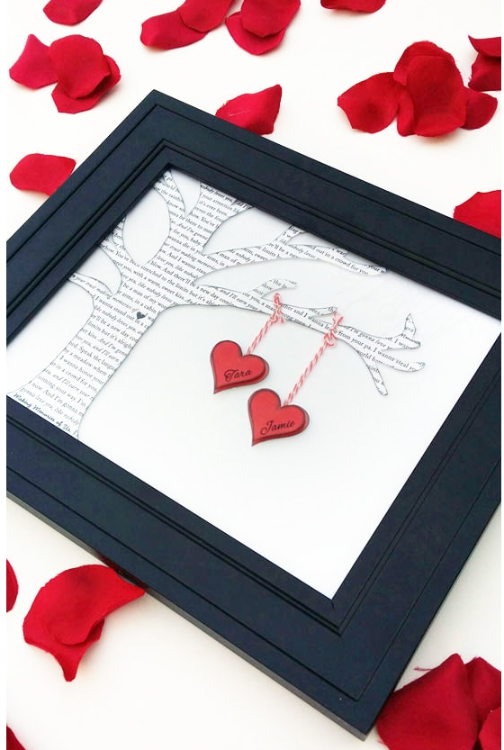 DIY Valentines Day Gifts Romantic Wall Decor