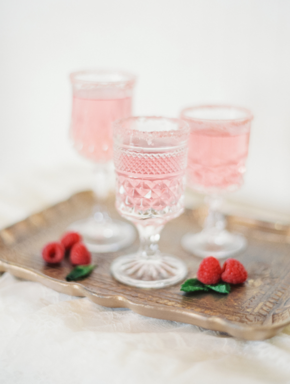 DIY Valentines Day Gifts Pink Cocktails