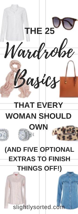 Wardrobe Basics Pinterest
