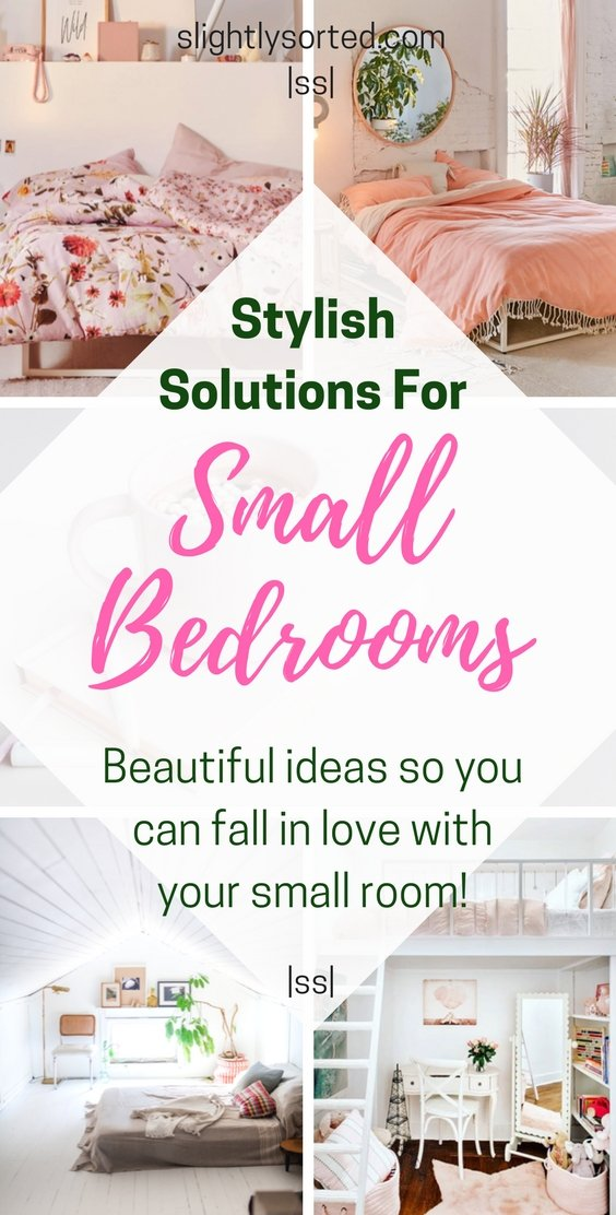 Stylish solutions for small bedrooms