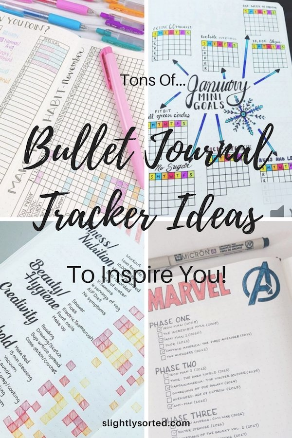 Bullet Journal Tracker Ideas