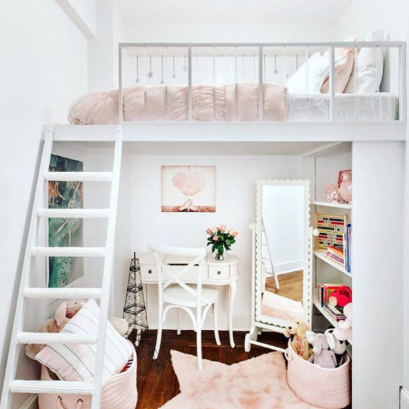 Stylish Bedroom Ideas for Small Rooms Loft Bed