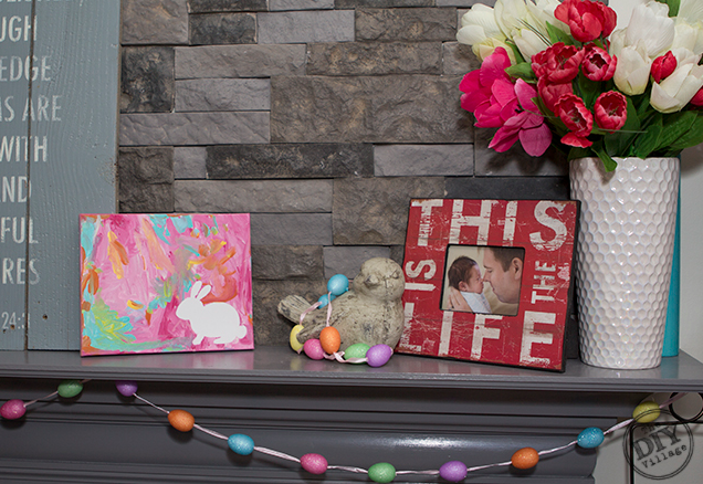 DIY Easter Craft Ideas Toddler Wall Art