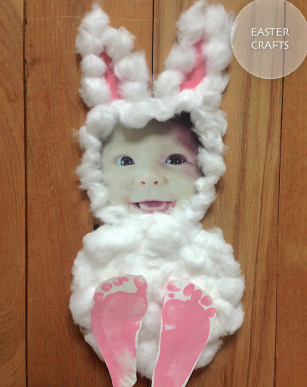 DIY Easter Craft Ideas Baby Bunny