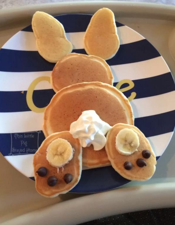 DIY Easter Craft Ideas Bunny Pancakes