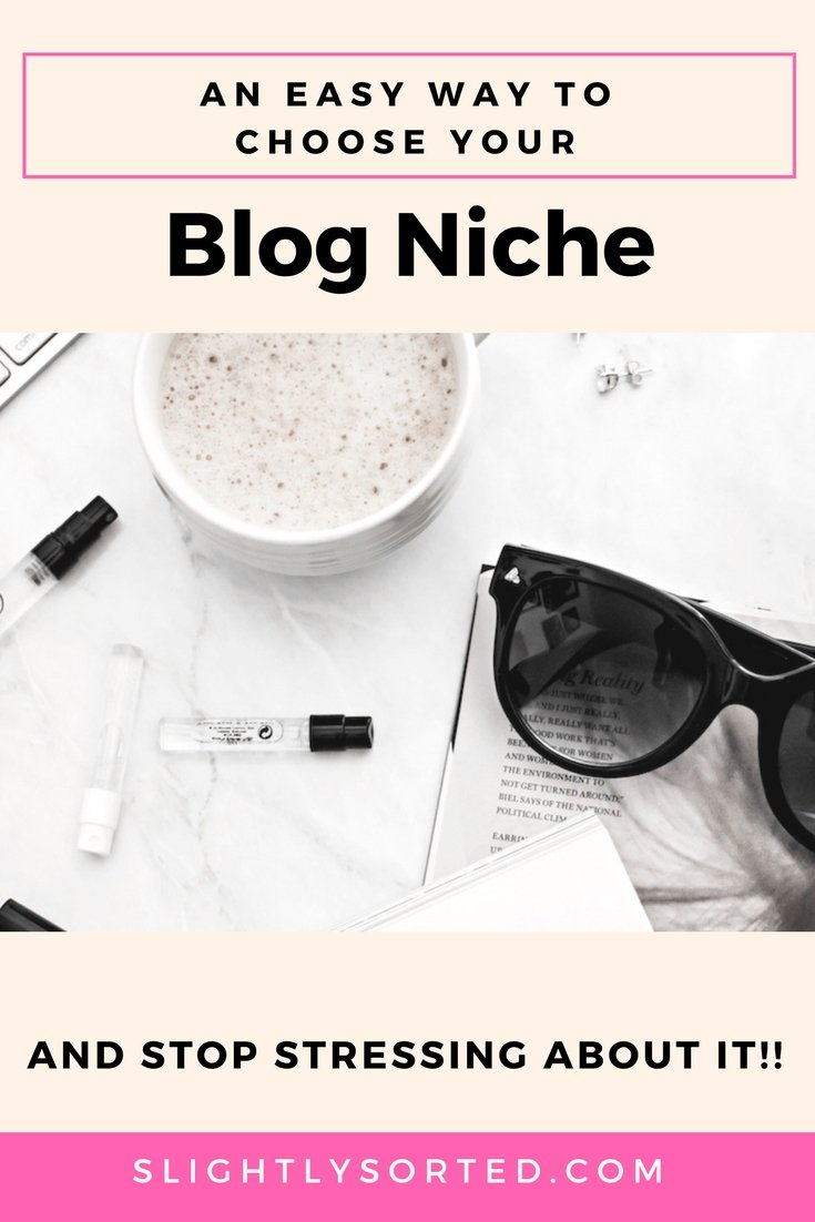 How to choose your blog niche