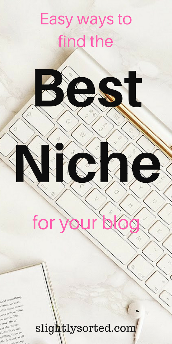 Easy ways to find the best blog niche