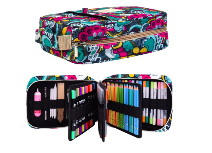 Bullet Journal Supplies Organization Huge Pencil Case