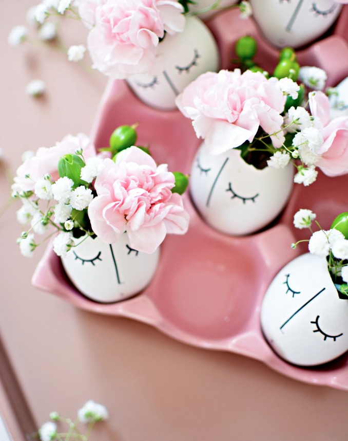 DIY Spring Decor Spring Eggs