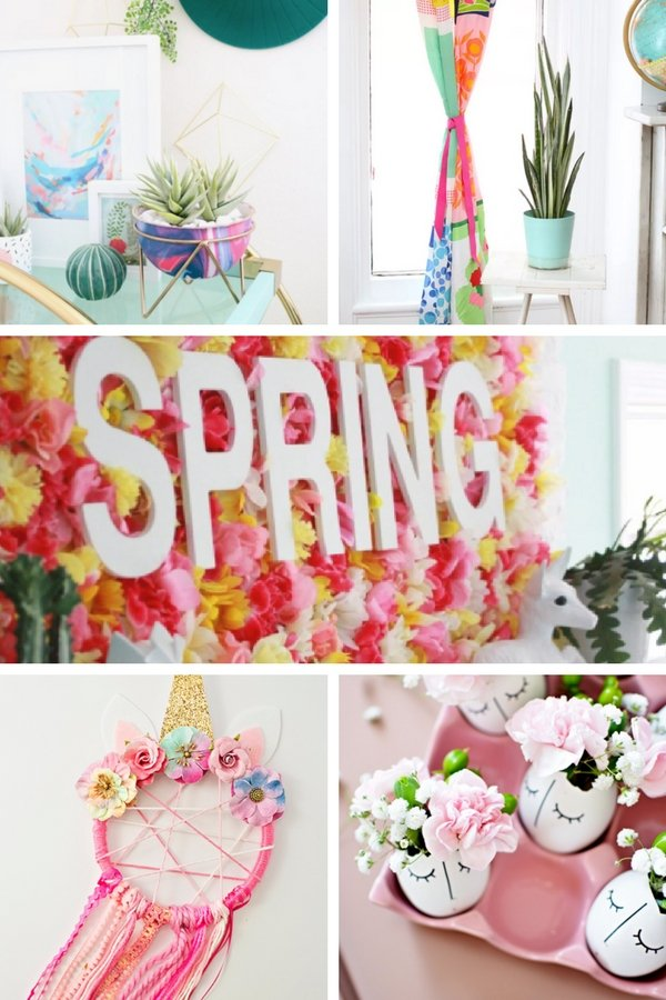 Amazing DIY Spring Decor Ideas