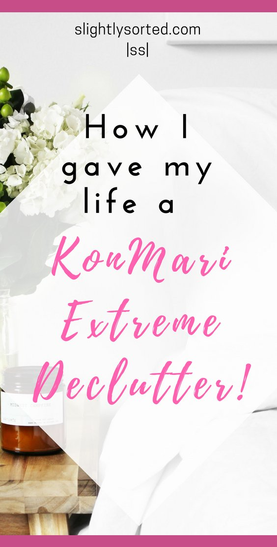 How I gave my life a KonMari Extreme Declutter