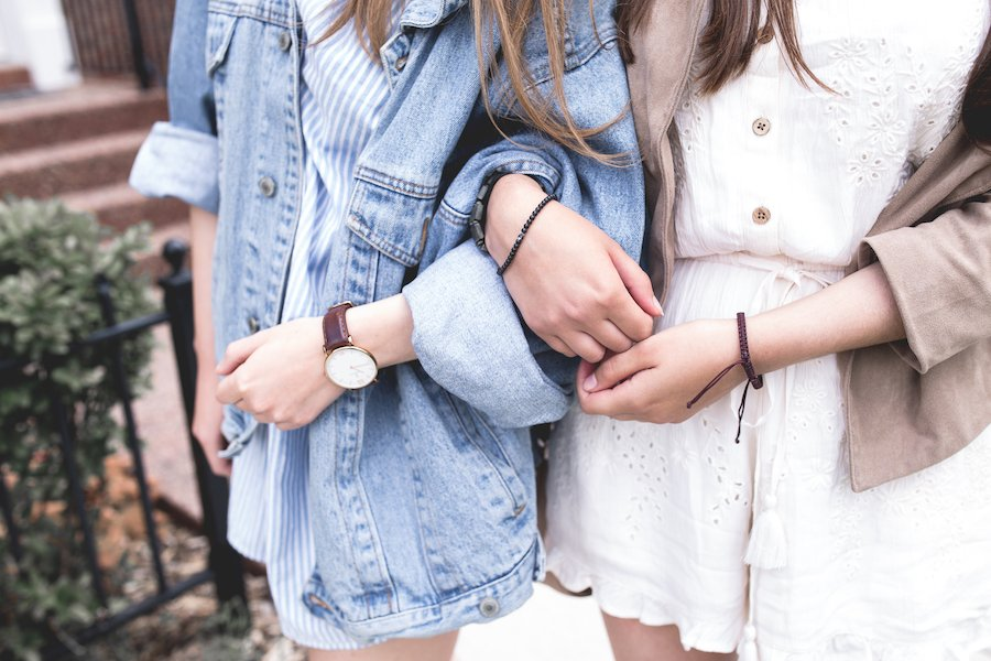 Denim jacket wardrobe staple