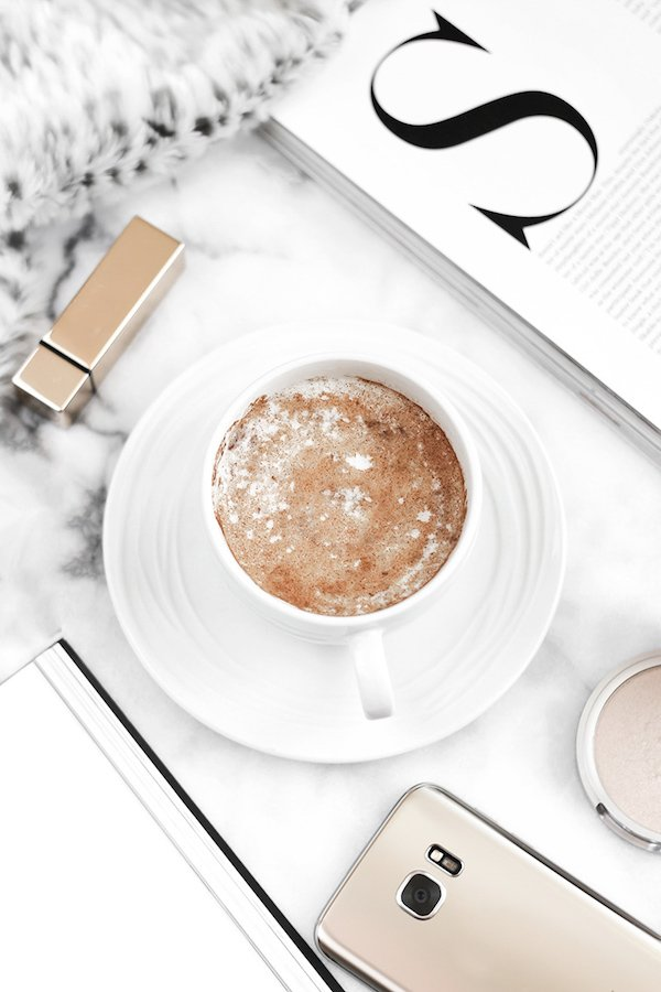 Free Online Stock Photos Styled Stock Desktop with Coffee