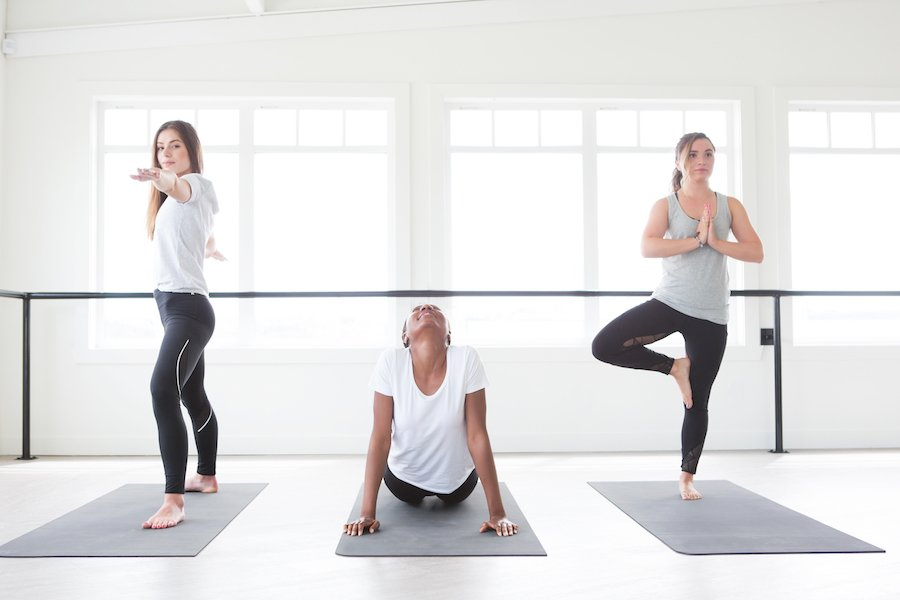 Yoga to help combat stress