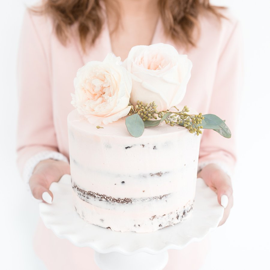 Big pink cake self care ideas