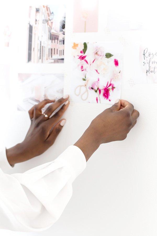 Self Care Ideas Vision Board
