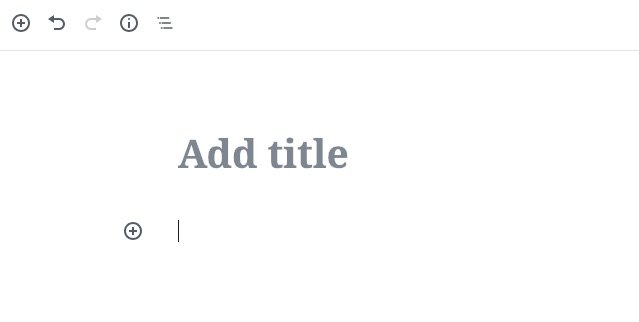 Add a block using block editor in WordPress