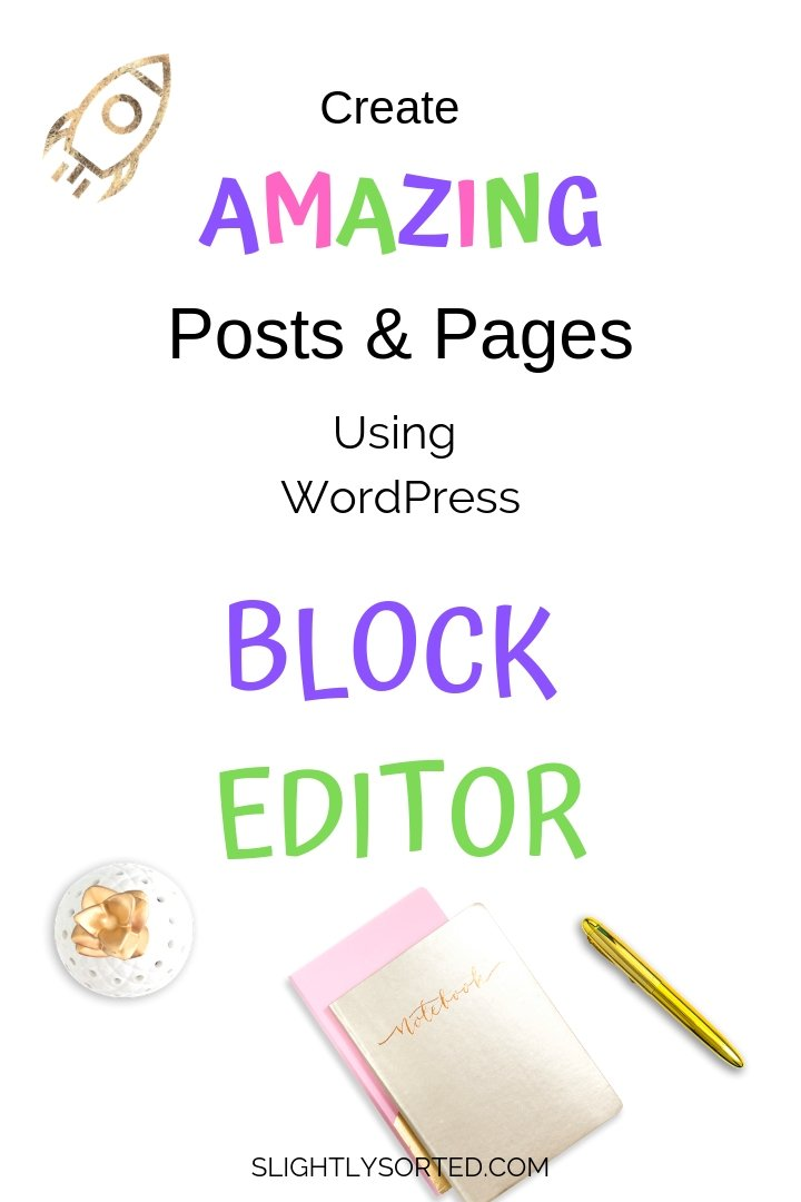 Create amazing posts and pages with WordPress Block Editor