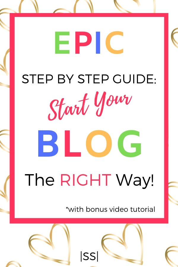 Epic StepBy Step Guide To Start Your Blog The Right Way