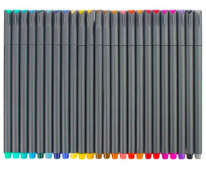 Colored pens for bullet journal starter kit